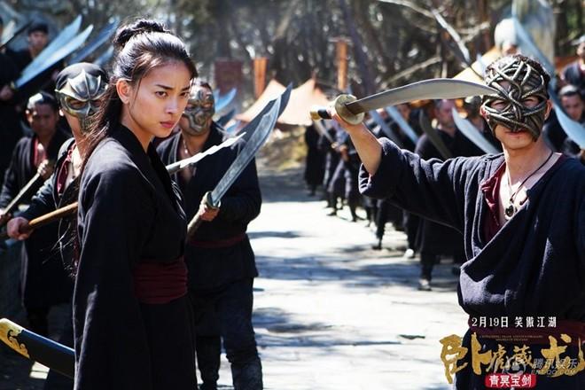 Ngô Thanh Vân đóng phim cùng Chân Tử Đan trong Ngọa Hổ Tàng Long 2