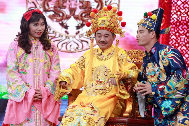 Ngọc Hoàng được tôn vinh là soái ca ở Táo quân 2016