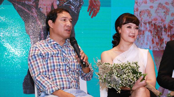 Vân Dung: Tôi phải nín nhịn để đóng cảnh tình cảm với Quang Thắng